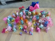 Vintage My Little Pony Lot 47 Ponies Various Sizes Color 1980and039s 1990and039s 2000 L@@k