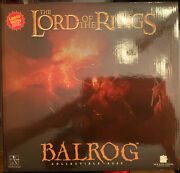 Gentle Giant Lord Of The Rings Balrog Light Up Collectible Bust 1531/3000