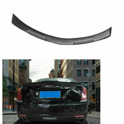 Fit For Cadillac Ct6 2016-2018 Matte Black Rear Spoiler Tail Trunk Lip Wing Bar