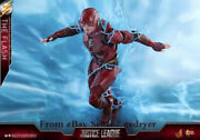 Hot Toys Ht Mms448 1/6 Justice League The Flash Action Figure In Stock Pvc