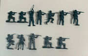 Mpc Us Civil War Blue Gray Gray Army Soldier 12 Count Lot