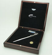Cross Fountain Pen Sterling Silver Limited Edition 18k Gold New In Box 1371/1954