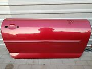 Peugeot 407 Coupe 2006 Front Right Side Door Panel Bare Red