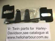 Harley Davidson Battery Rod Kit With Flags Pads + Wing Nuts Parkerized 42-9918