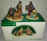Vintage 1999 Department 56 Town Of Bethlehem Wise Men From The West Accessory