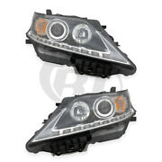 Halogen Headlights For 13-15 Lexus Rx350 Canada Built Left And Right Pair Set