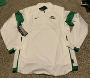 Nike Oregon Ducks Lightweight Pullover 2019 1/2 Zip Menand039s Size Large Nwt