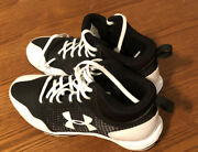 Under Armor Mens Baseball Cleats Size Usa 5y Authentic Mlb Collection Black