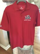 Somerset Patriots Staff Polo Shirt Size Adult Small – Red Atlantic League Milb