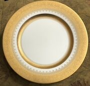 """Faberge Imperial Heritage Gold Presentation Plate 12"""""""