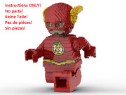 Lego Flash Statue Building Instruction Instructions Only No Bricks