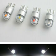 10x White T10 Osram 2smd 3030 Led W5w 194 168 Led Wedge Map Dome Light Bulbs 12v