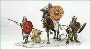 Painted Tin Toy Soldier 54mm. Vikings Ix C.