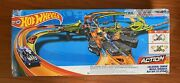 Hot Wheels-colossal Crash Track Set Newopen Box-in New Condition