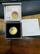 2010 Israel 1/2 Oz Gold 10 Nis Proof Coin Akko Gold Coin Only 555 Ever Made