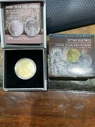 2012 Israel 1/2 Oz Gold 10nis Proof Coin Daniel In The Den Of The Lions 555 Made