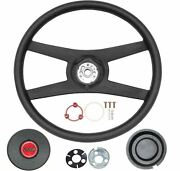Oer 14 4 Spoke Sport Steering Wheel Kit 1977-1979 Camaro With Z28 Emblem