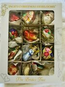 Inge Glas Christmas Heirlooms Andldquobrides Treeandrdquo Ornaments Hand Crafted From Germany