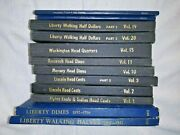 Vintage Lot Of 12 Coin And Currency Institute And Whitman Coin Holder Books