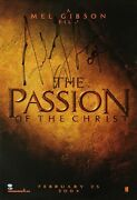 Mel Gibson Signed 'the Passion Of The Christ' Movie Poster Director Psa/bas
