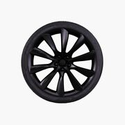 Tesla Model X 22 Inch Turbine Wheels And Tires - Barely Used