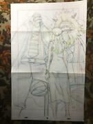 One Piece Cel Large Original Sketch From Episode 772 The Legendary Journey