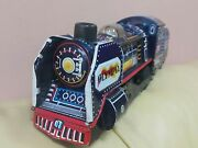 Vintage Train Olympia Locomotive Tin Toy Friction Made In Japan C-1985 Express