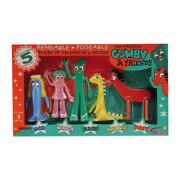Gumby And Friends Bendable Boxed Set 5 Piece Nj Croce 011154