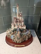 The Beast's Castle Disney Wdcc Enchanted Places Beauty And The Beast