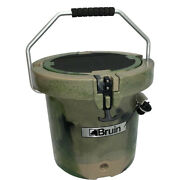 Bruin Outdoors 20 Qt Roto-molded Bucket Cooler For Hunting And Fishing - Camo