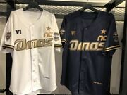Kbo Nc Dinos Official 2020 Champion Away Jersey Shirts Korean Series Embroidery
