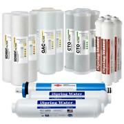 Reverse Osmosis Ro System Replacement Water Filter Cartridge 6 Stage 2 Year Pack