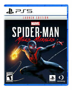 Marveland039s Spider-man Miles Morales -- Standard Launch Edition Ps5 Disc Game