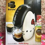 Sanrio Hello Kitty Nescafe Gold Blend Barista Limited Model Coffee Maker W/box
