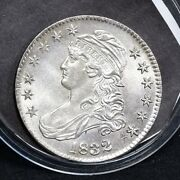 1832 Bust Half Dollar - Small Letters - Unc Details 34457