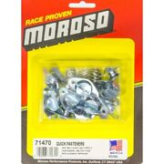 Moroso 71470 Quick Turn Fastener Self Ejecting Wing Head 10pc New