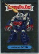Garbage Pail Kids Chrome Series 3 'c' Variant Base Card 87c Android Boyd
