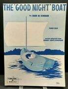 The Good Night Boat Sheet Music Piano Solo Level 1 Practice Teach Cover Art F1ag