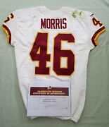 46 Alfred Morris Of Redskins Nfl Game Worn And Unwashed Jersey Vs Panthers Wcoa