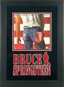 Bruce Springsteen Signed Autographed Born In The Usa Album Framed Psa Loa