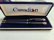 Canadian Airlines Ballpoint Pen And Pencil Set In Original Box.
