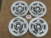 1965 Pontiac Gto 14 Spinner Wheel Covers Hubcaps Set Of 4