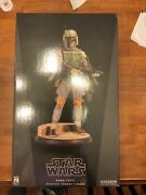 Boba Fett Premium Format Sideshow Star Wars 1306 And 429/2000 Sold Separately