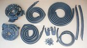 1969-72 Chevelle Usa Rubber Seal Door Roof Trunk Cowl Weatherstrip Seal Kit 11pc