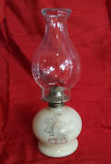 Lilly Base Hurrican Lamp