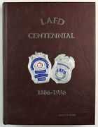 Los Angeles Fire Department Lafd California 1986 Firefighter History Year Book