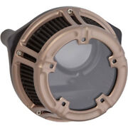 Arlen Ness Method Titanium Clear Air Cleaner Filter Harley 17+ Touring Softail