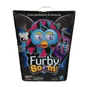Furby Boom Figure Hasbro Triangle Pattern Pink Teal Black New In Box App Useable