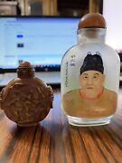 Lot Of 2 Chinese Snuff Bottles.