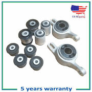 Front Control Arm Bushing Kit Compatible With 11-15 Jeep Grand Cherokee Dodge